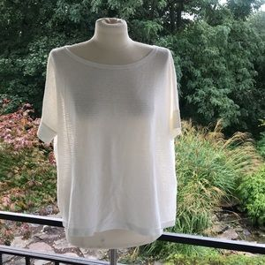 NWT Loft ivory sweater